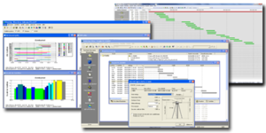 Software im Labor für Satellitennavigation